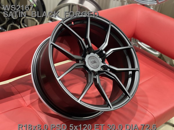 Кованые диски BMW 5 F10 R18 (5/120)