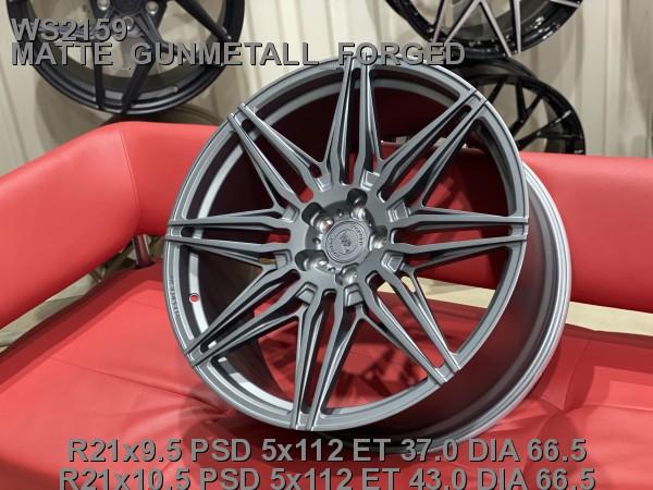 Кованые диски BMW X6 2021 G06, X5M R21 (5/112) - Фото 2