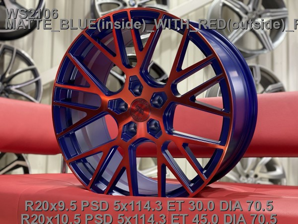 Кованые диски ford mustang gt500 R20 - Фото 2