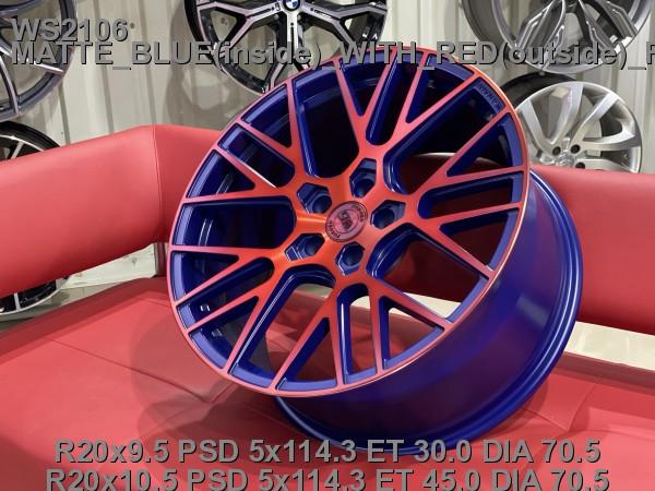 Кованые диски ford mustang gt500 R20 - Фото 3