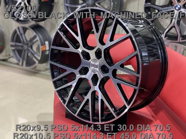 Кованые диски ford mustang gt500 R20 - Фото 6