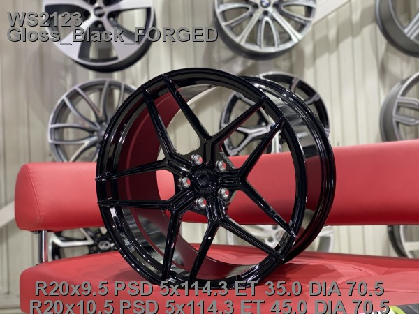 Кованые диски ford mustang gt500 R20 - Фото 9