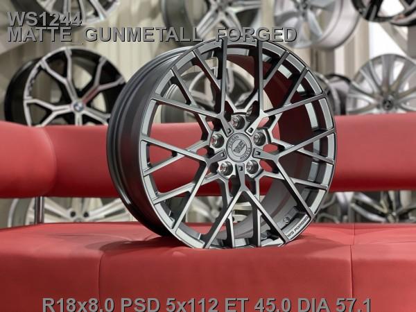 Кованые диски volkswagen passat b8 Skoda Superb R18 A7 - Фото 4