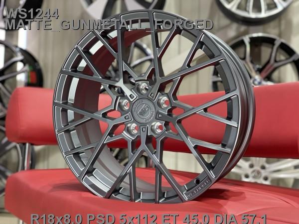 Кованые диски volkswagen passat b8 Skoda Superb R18 A7 - Фото 5