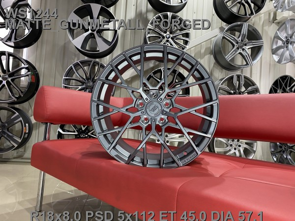 Кованые диски volkswagen passat b8 Skoda Superb R18 A7 - Фото 6