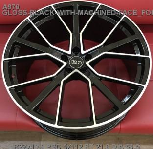 Кованые диски Audi Q8 R22 облегченные New Q7