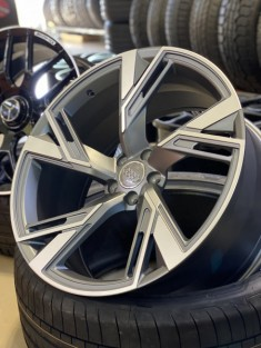 Кованые диски Audi RS6 R21 NEW Q8, SQ7, RS7, Q7, S8, A8