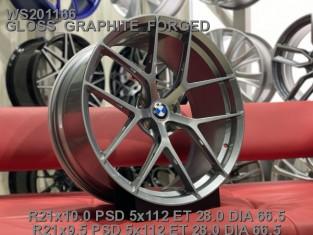 Кованые диски BMW X4 M Competition R21 разноширокие