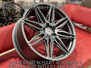 Кованые диски BMW X6 2021 G06, X5M R21 (5/112)