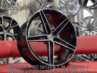 Кованые диски BMW X6M, X5M, F16, F15, F86 R21 облегченные WSForged