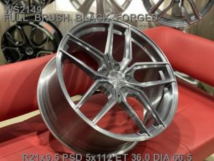 Кованые диски BMW X7 R21 G07 облегченные