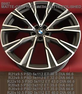 кованые диски BMW X7 R21 облегченные