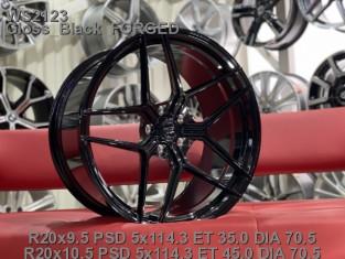 Кованые диски ford mustang R20 разноширокие
