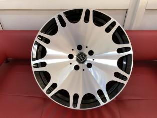 Кованые диски Mercedes Brabus gelenvagen G700, G63 R21, кубик 2020