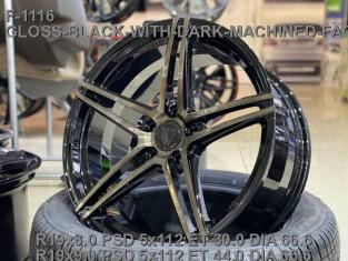 Кованые диски Mercedes C W205 R19 AMG