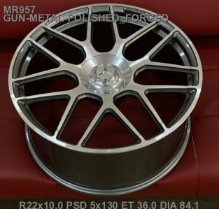 Кованые диски Mercedes кубик R22 AMG , Gelandewagen 2019 кубик