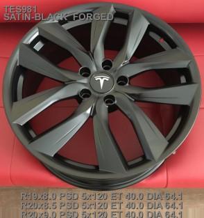 Кованые диски Tesla Model s R19,  оригинальные параметры