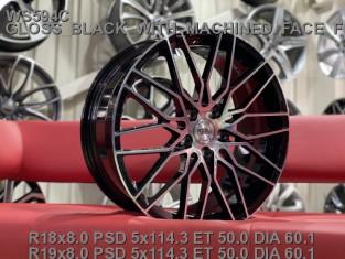 Кованые диски Toyota Camry 3.5  R18 Lexus is