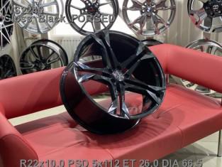 Кованые диски volkswagen touareg r-line R22 2021