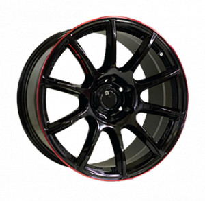 Off Road Wheels OW1012 GLOSSY_BLACK_RED_LINE_RIVA_RED GLOSSY_BLACK_RED_LINE_RIVA_RED