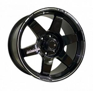 Off Road Wheels OW742 BLACK BLACK
