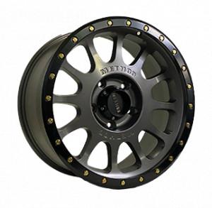 Off Road Wheels OW9095 TITANIUM_WITH_LIP_MATT_BLACK TITANIUM_WITH_LIP_MATT_BLACK