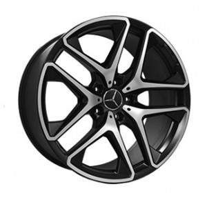 Replica FORGED MR2188 MATTE-BLACK-WITH-MACHINED-FACE_FORGED MATTE-BLACK-WITH-MACHINED-FACE_FORGED