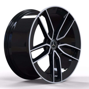 Replica FORGED MR399B GLOSS-BLACK-WITH-MACHINED-FACE_FORGED GLOSS-BLACK-WITH-MACHINED-FACE_FORGED