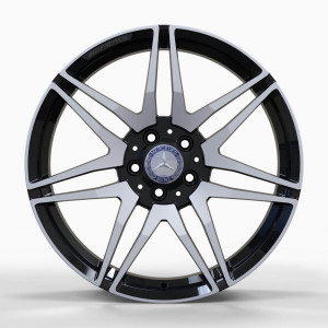 Replica FORGED MR874 GLOSS-BLACK-WITH-MACHINED-FACE_FORGED GLOSS-BLACK-WITH-MACHINED-FACE_FORGED