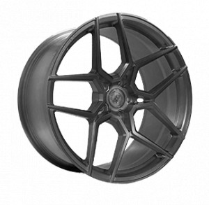 WS FORGED WS2113 FULL_BRUSH_MATTE_GUNMETALL_FORGED FULL_BRUSH_MATTE_GUNMETALL_FORGED