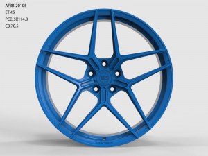WS FORGED WS2123 MATTE_BLUE_FORGED MATTE_BLUE_FORGED