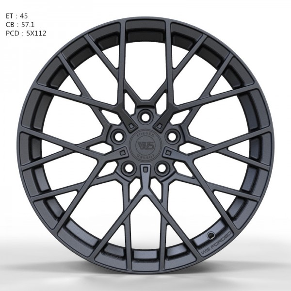 WS FORGED WS1244 MATTE_GUNMETALL_FORGED
