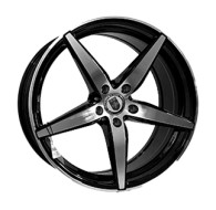 CAST WHEELS CW636 BKF