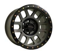 Off Road Wheels OW6092 TITANIUM_WITH_LIP_MATT_BLACK