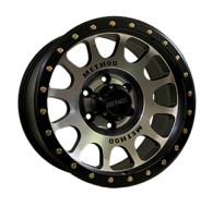 Off Road Wheels OW9095 MATT_BLACK_MACHINED_FACE_LIP_MUTT_BLACK