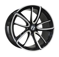 Replica BN1040L GLOSS-BLACK-WHITH-MATTE-POLISHED_FORGED