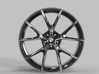 Replica FORGED B192B GLOSS-BLACK-MACHINED-FACE_FORGED