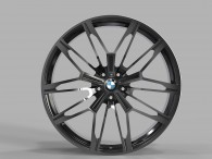 Replica FORGED B2262 GLOSS-BLACK-WITH-DARK-MACHINED-FACE_FORGED
