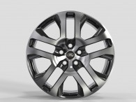 Replica FORGED LR2241 GLOSS_BLACK_MACHINED_FACE_FORGED