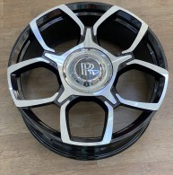 Replica FORGED RR1137 GLOSS-BLACK-WITH-MACHINED-FACE_FORGED