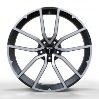 Replica FORGED TES1340 GLOSS-BLACK-WITH-MACHINED-FACE_FORGED
