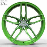 WS FORGED WS1250 MATTE_GREEN_WITH_MACHINED_FACE_FORGED