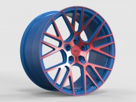WS FORGED WS2106 MATTE_BLUE(inside)_WITH_RED(outside)_FACE_FORGED